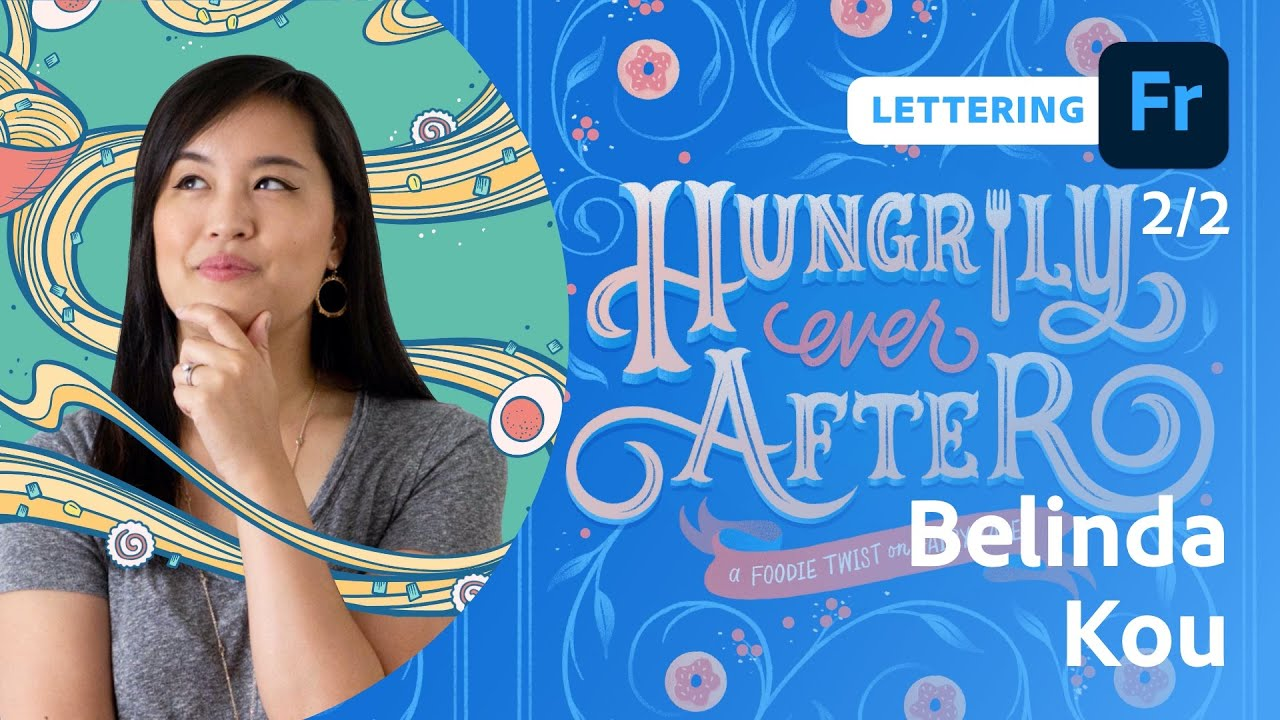Lunch Time Lettering with Belinda Kou - 2 of 2