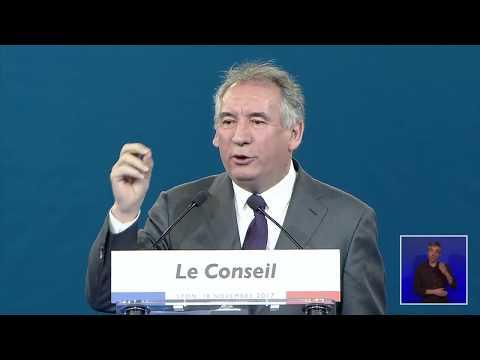 Discours de François Bayrou | Conseil de LaREM