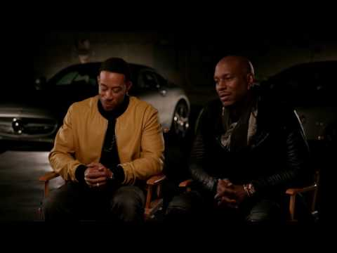The Fate of the Furious: Ludacris and Tyrese Gibson Exclusive Interview