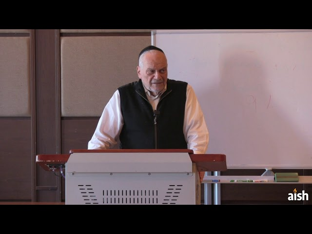 Purim Then & Now   Rav Berel Wein   Aish HaTorah Wisdom for Living