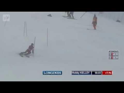 Robby Kelley Run 1 2016 Levi World Cup Slalom