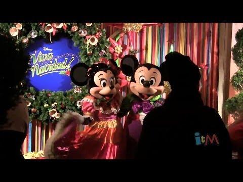 Viva Navidad meet-and-greets and live music at Disney California Adventure