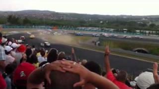 Michelisz Norbert WTCC Hungaroring ütközés (crash)