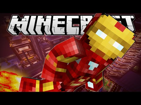 Minecraft | IRON MAN!! (Flying, Scatter Bombs & More!) | Vanilla Mod Showcase