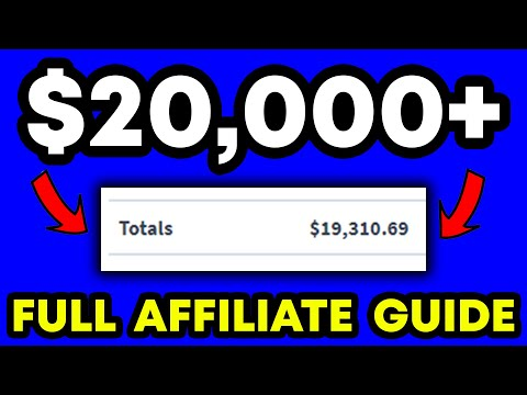 Affiliate Marketing Guide – How I Make $20,000+/MONTH (FULL Step By Step Beginners Guide!)
