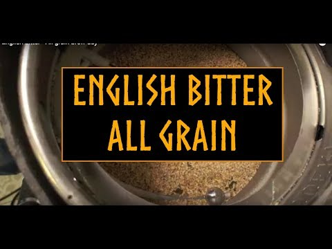 English extra special bitter - All grain brewday