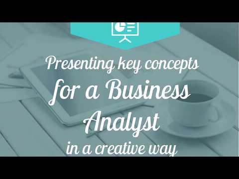 Presenting Business Analysis Concepts Creatively