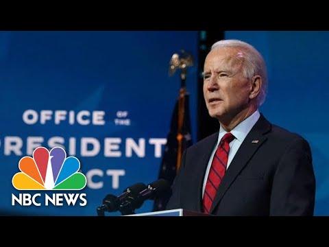 Biden Delivers Remarks On Wilmington | NBC News