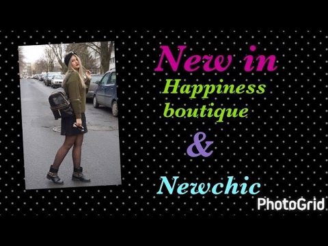 New in! Happiness Boutique & Newchic!