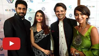 Salman Khan's Ex Aishwarya Rai With Vivek Oberoi At ISRAEL PM BENJAMIN NETANYAHU Bollywood Party