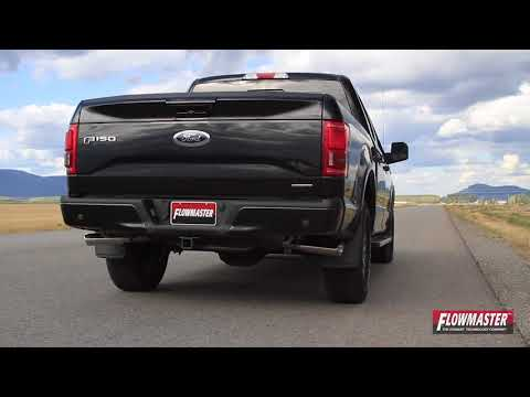 Flowmaster American Thunder Catback System   2015-18 Ford F-150   Motorwise.ca