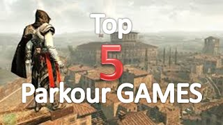 Top 5 Best Parkour in the games (Gameplay) PC/PS3/PS4 (HD)