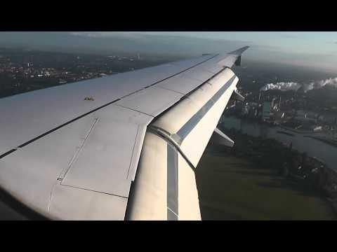 Lufthansa A319 D-AILS full Landing @Bremen