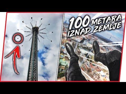 LUDA VONJA 100 METARA IZNAD ZEMLJE!