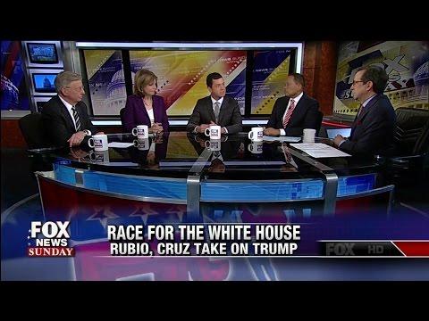 Rubio, Cruz Take on Trump - But is it too late?