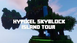 Hypixel Skyblock Island Tour!