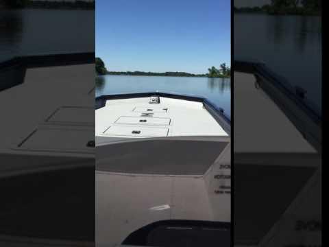 SeaArk River Cat 2060 with a 60 Evinrude E-Tec Test ride