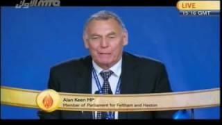 Alan Keen Member of Parliment at Jalsa Salana UK-2010.