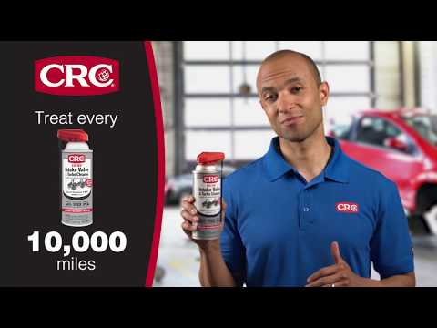 How to Clean Intake Valves On Volkswagen Engines with CRC GDI IVD® Intake Valve Cleaner