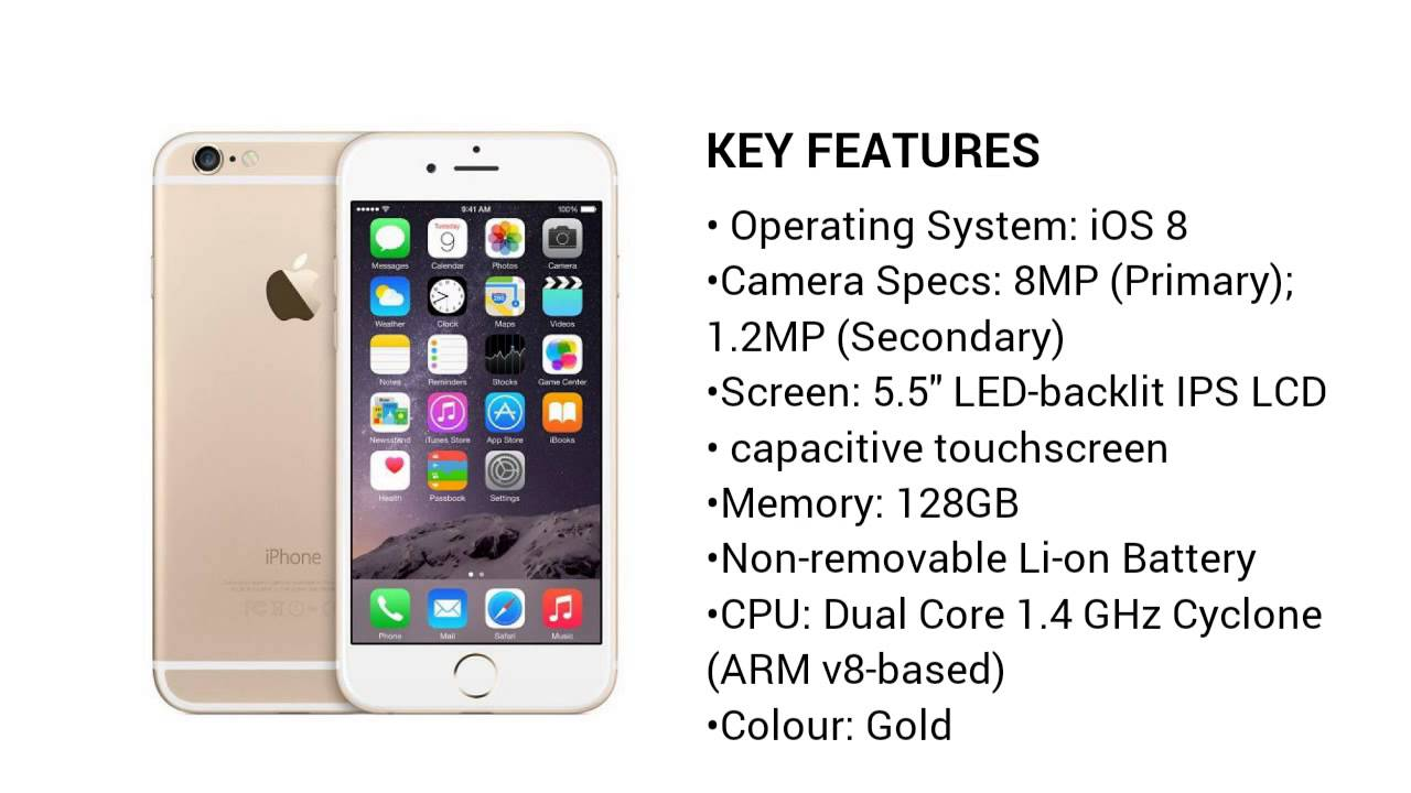 47802320f1e Apple iPhone 6 Plus 128GB - Gold - Jumia Nigeria - YouTube