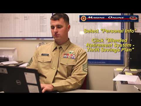 How To Opt-In To BRS: Marine Corps