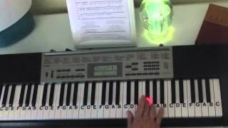 How to Play ~ DD Duck Dynasty Intro ~ Sharp Dressed Man / ZZ Top ~ LetterNotePlayer ©