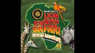 Lion Country Safari World Amusement Park November 9, 2018