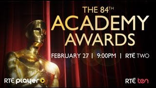 Oscars 2012 | RTÉ Two | Monday 27th | 9pm | Catch Up on RTÉ Player