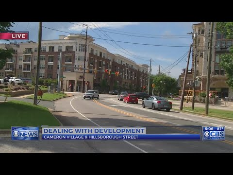 Dealing with development at Cameron Village