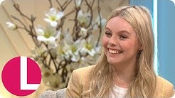 Nell Hudson Reveals She Stole Props from the Victoria Set | Lorraine