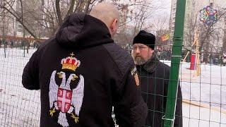 Православные рейдеры, вон из Торфянки!(Митинг против строительства храма в парке