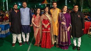 Mukesh Ambani's residence Antilla decked up for Isha-Anand nuptials | OneIndia News