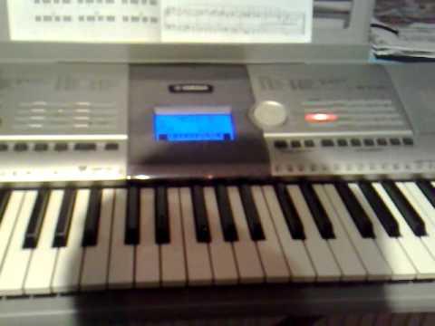 Eiffel 65 i 39 m blue keyboard yamaha psr 295 youtube for Yamaha clp 295