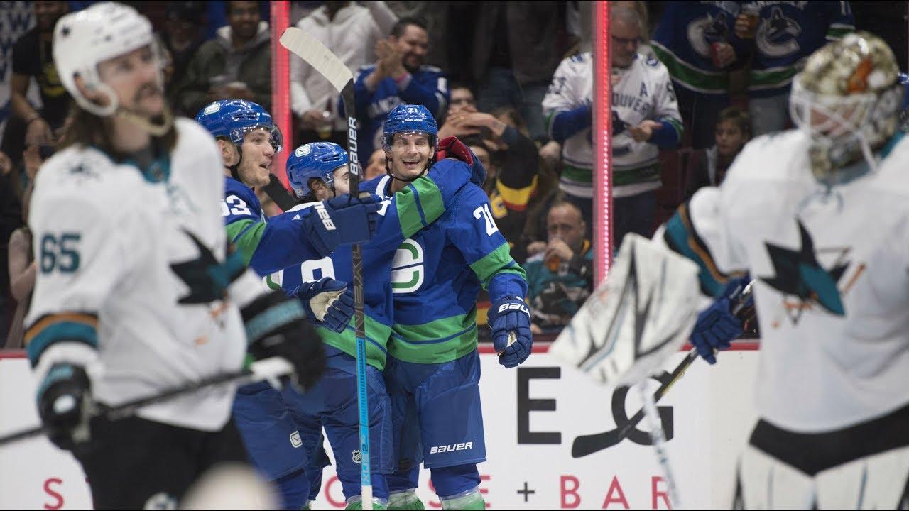 NHL Highlights | Sharks vs Canucks - Jan. 18, 2020