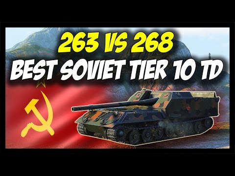 ► World Of Tanks: Object 263 Vs Object 268 - Best Soviet Destroyer - Patch 9.16 Update