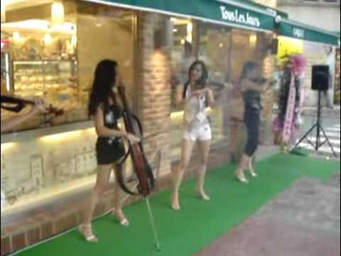 (KOREA)Electric String Quartet Bellatrix.flv