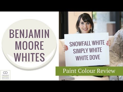 Benjamin Moore Paint Colours   Whites