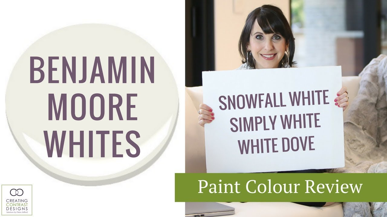 Benjamin Moore White Paint Colours Youtube