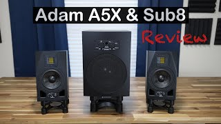 Adam A5X & Sub8 Combo Review