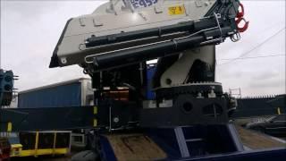 Pesci Crane Trailer Fassi PM Hiab knuckle boom