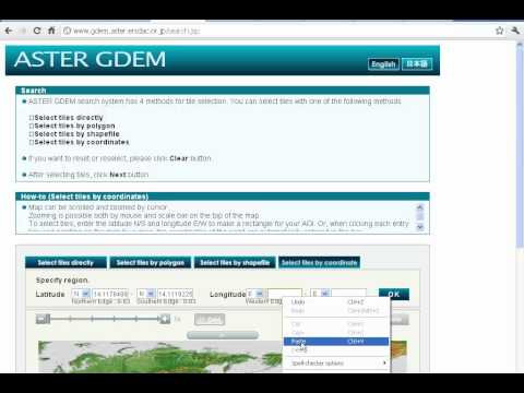 GIS Software Download ASTER NASA Geo DEM And Building Contours - Aster gdem free download