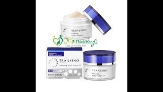 Kem đêm tái tạo da Transino Whitening Repair Cream 35g có tốt không?Shop Thuốc Chính Hãng