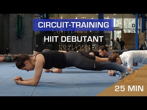 Circuit training – HIIT Débutant