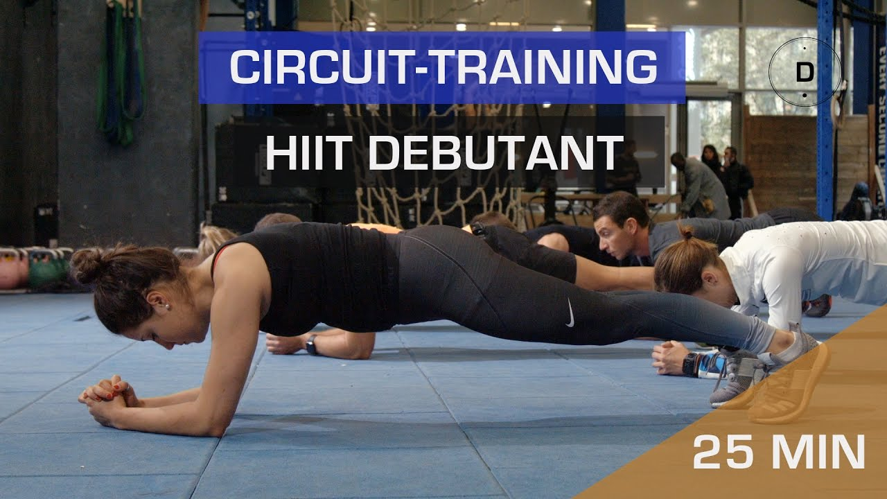 Circuit training – HIIT Débutant - YouTube 5469d912984