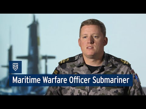 Navy - Maritime Warfare Officer Submariner - Joshua