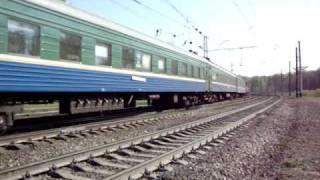 Пригородный поезд Ярославль-Иваново