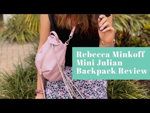 2b687020b Ways to Wear: Rebecca Minkoff Lilac Mini Julian Backpack + Pearl Clips!