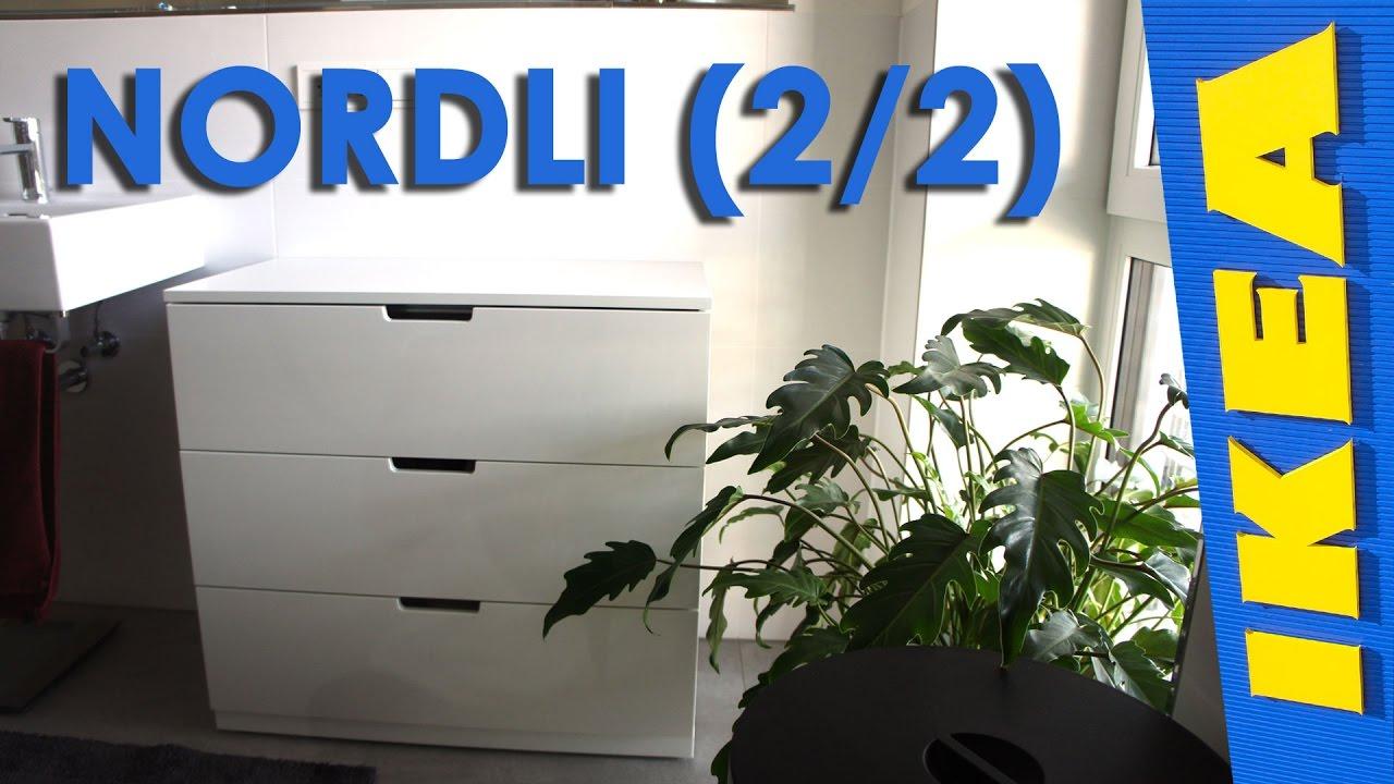 Ikea Nordli 2 2 Youtube