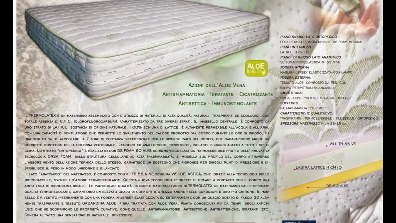 Materassi Memory Vs Lattice.Video Materassi Memory Catalogo Materassi Memory Foam Viscoelastico