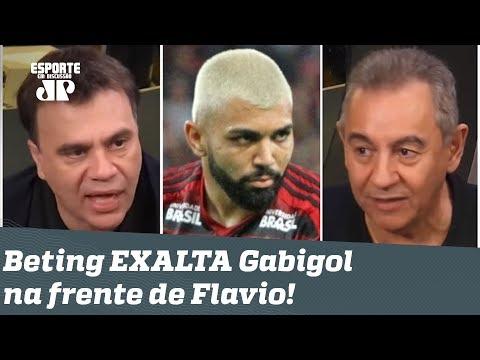 Quem é o FRACASSADO agora? Mauro Beting EXALTA Gabigol na frente de Flavio Prado!